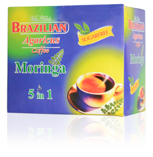 Brazilian Agaricus 5-in-1 Coffee + Moringa Sugarfree